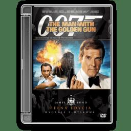 1974 James Bond Man With The Golden Gun icon