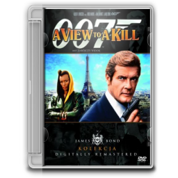 1985 James Bond A View to a Kill icon