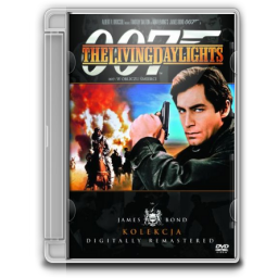 1987 James Bond The Living Daylights icon