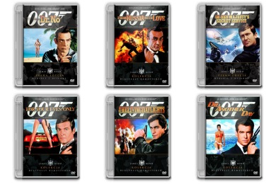 James Bond Cover Icons