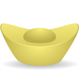 Gold ingot icon