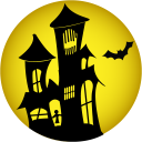 Haunted-house icon
