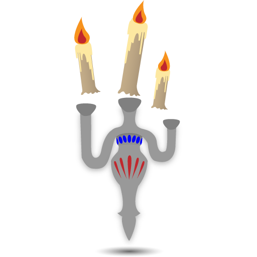 floating candles icon