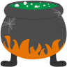 Bubbling-cauldron icon