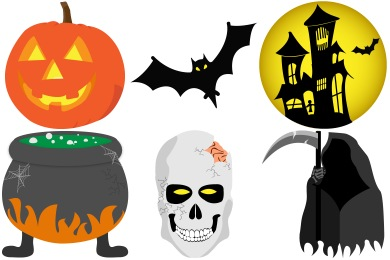 Halloween 2012 Iconset (12 icons) | GoldCoastDesignStudio