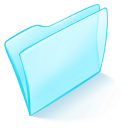 folder blue normal icon