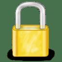 System lock icon