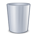 System trash icon