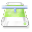 Drive-green-network icon