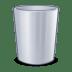 System-trash icon