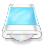 Drive-blue-disk icon