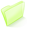 Folder-green-normal icon