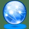 System-globe icon