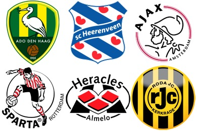 Dutch Football Club Icons