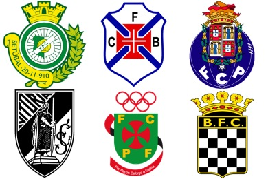 Portugese Football Club Icons