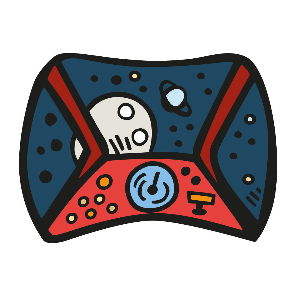 Space cockpit Icon | Free Space Iconset | Good Stuff No Nonsense