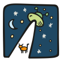 Alien obduction icon