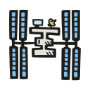 International space station icon