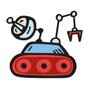 Space rover 2 icon
