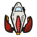 Space ship icon