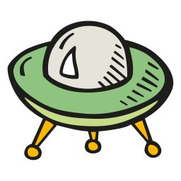 Alien ship 2 icon