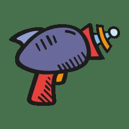 Laser gun icon