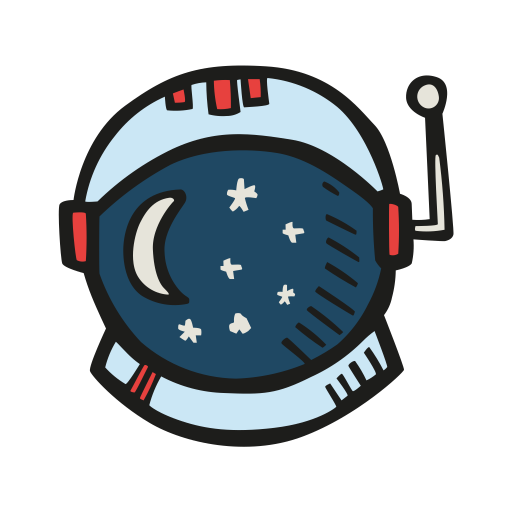Astronaut-helmet icon