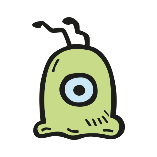Brain slug icon