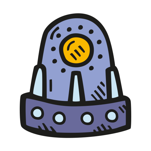Space capsule icon
