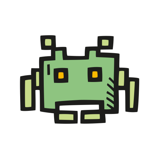 Space invader icon