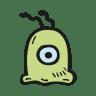 Brain-slug icon