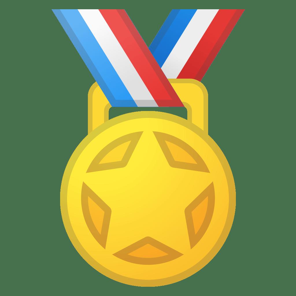 Sports medal Icon   Noto Emoji Activities Iconset   Google
