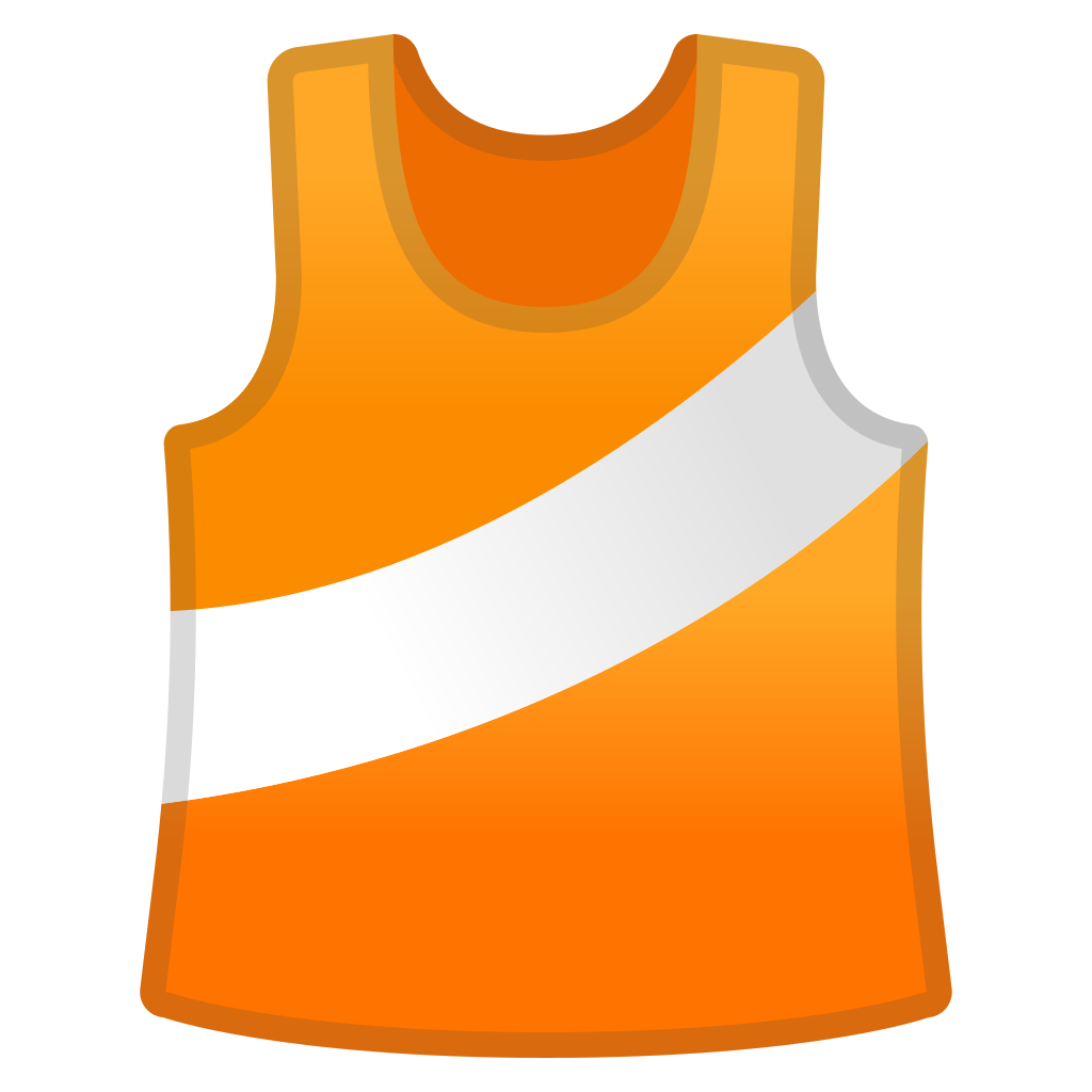 running shirt icon noto emoji activities iconset google