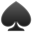 Spade suit icon