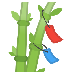 Tanabata tree icon