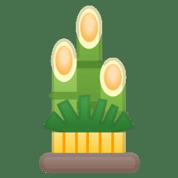 Pine decoration icon