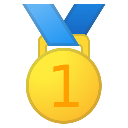 1st place medal icon