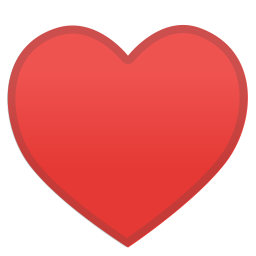 Heart suit icon