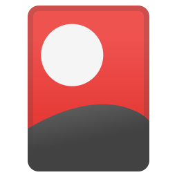 Flower playing cards icon