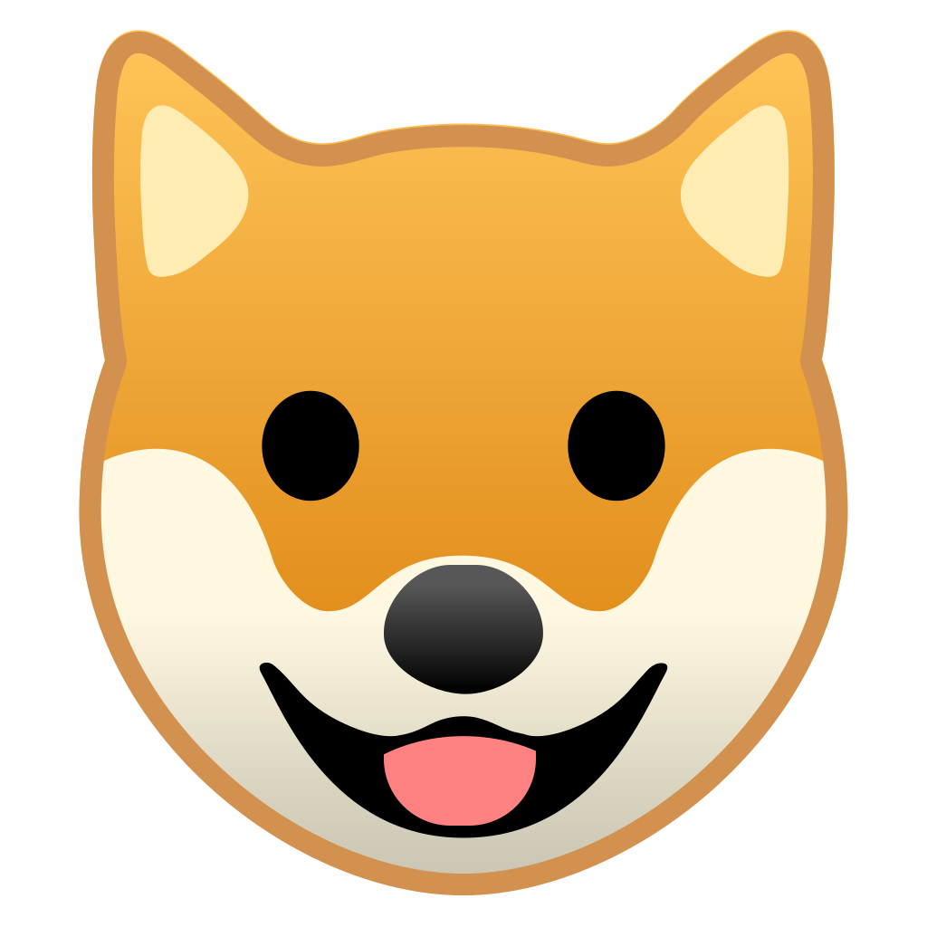 Dog face Icon | Noto Emoji Animals Nature Iconset | Google - photo#15