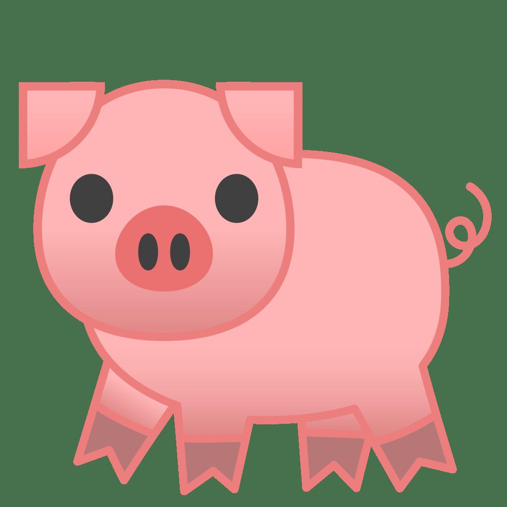 pig icon noto emoji animals nature iconset google cute pig clip art black and white cute pig clip art free