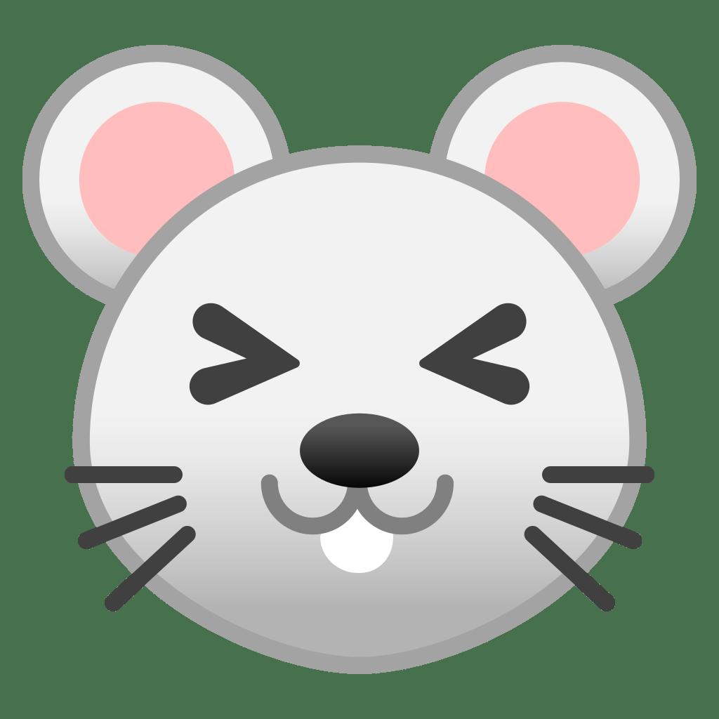 Mouse face Icon | Noto Emoji Animals Nature Iconset | Google