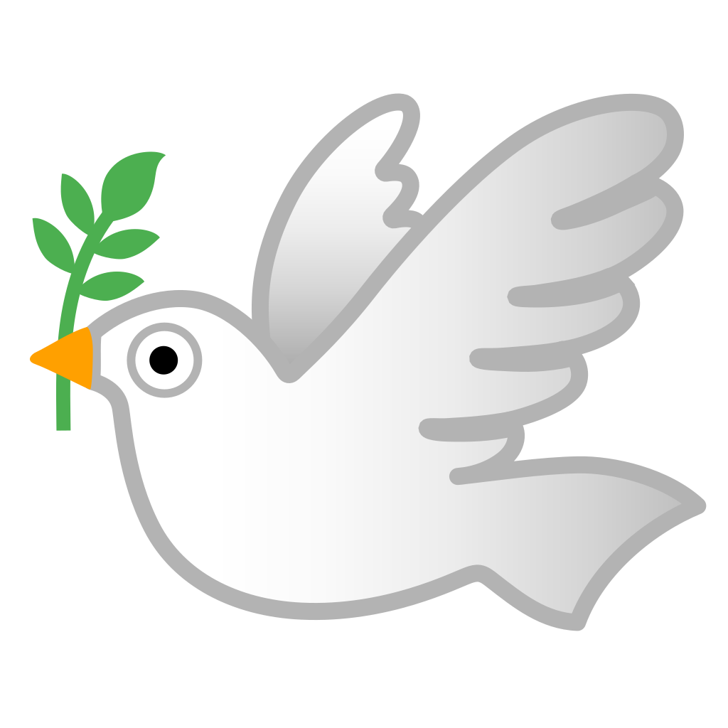 dove icon noto emoji animals nature iconset google