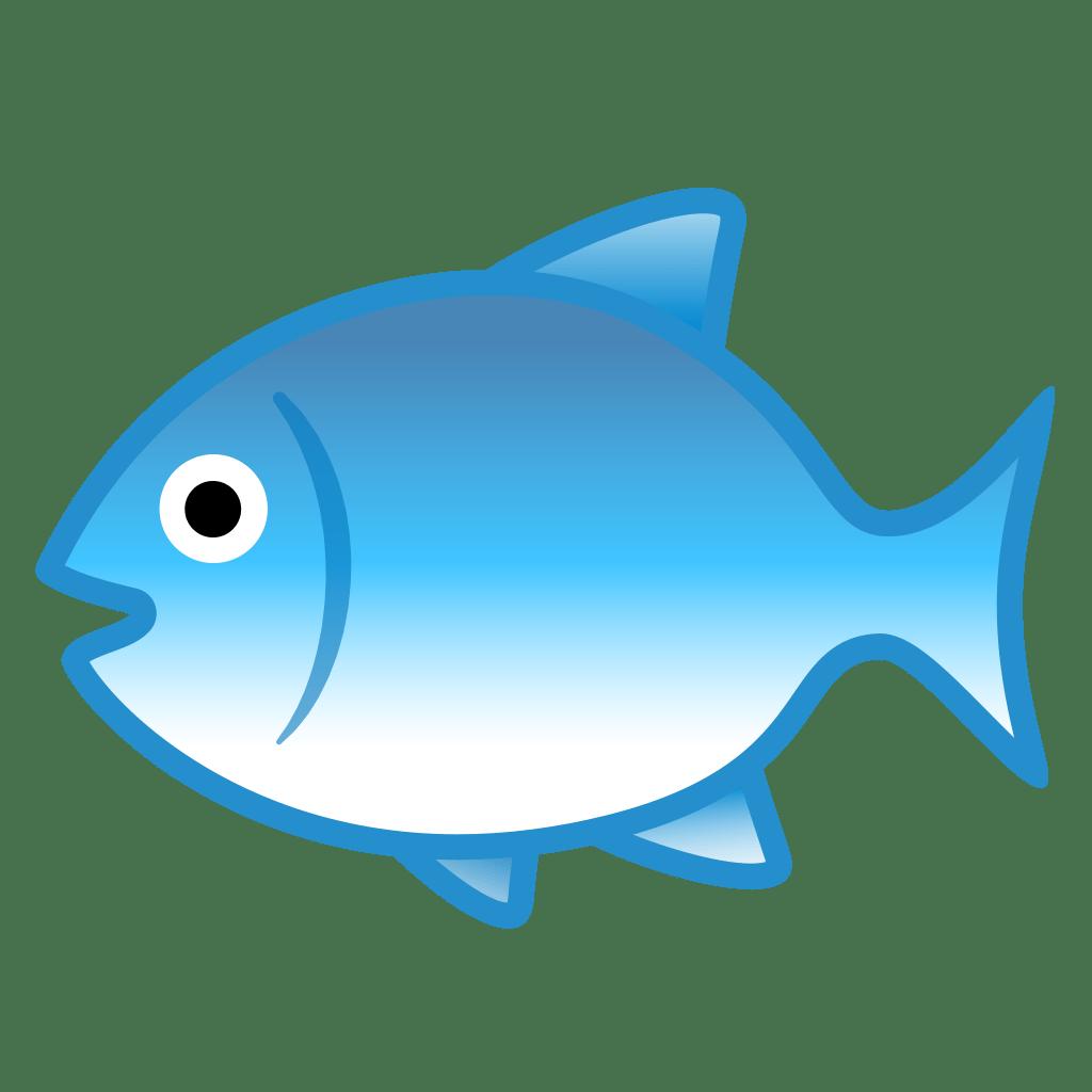 Fish Icon | Noto Emoji Animals Nature Iconset | Google  Fish Icon | Not...