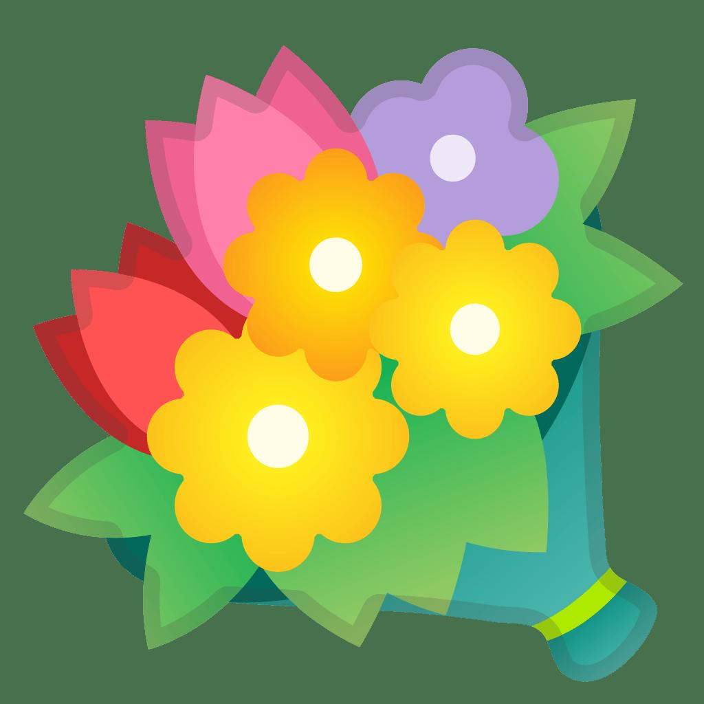 Bouquet Icon Noto Emoji Animals Nature Iconset Google
