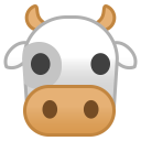 Cow face icon