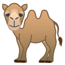 Two hump camel icon