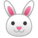 Rabbit face icon