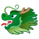 Dragon face icon