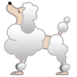 Poodle icon